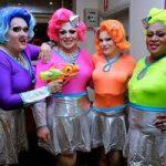 GAYLIENS = Felicity Frockaccino , Eliza Downe , Coco Foxx & Fifi Fo'Fum At Heaven 13Sep & 15Nov 2014